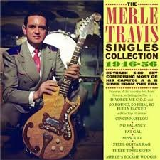 Merle Travis - Singles Collection 1946-1956   (3-cd set)