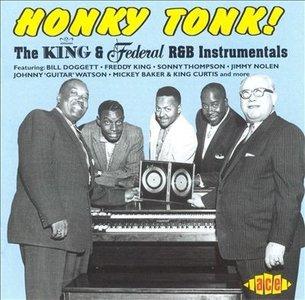 Various / Honky Tonk! The King & Federal R&B Instrumentals