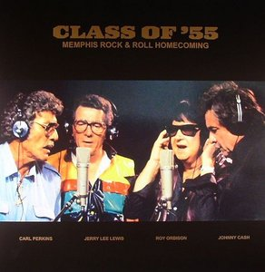 Jerry Lee Lewis, Carl Perkins, Roy Orbison, Johnny Cash - Class Of '55
