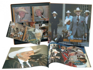 Bill Monroe - Far Across The Blue Water (Bear Family, 4cd's + 1 dvd)