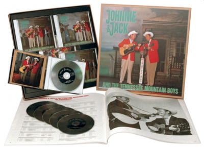 Johnnie & Jack - And The Tennessee Mountain Boys (Bear Family, 6 cd's)