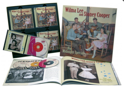 Wilma Lee & Stoney Cooper - Big Midnight Special (Bear Family, 4 cd's)