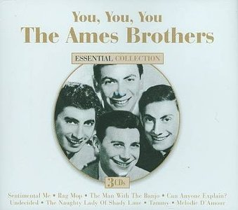 The Ames Brothers With Hugo Winterhalter's Orchestra And Chorus Hugo Winterhalter's Orchestra & Chorus The Man With The Banjo / Man Man Is For The Woman Made