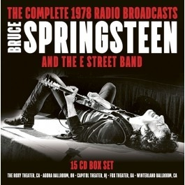 Bruce Springsteen - Complete 1978 Radio Broadcasts (15 CDs)