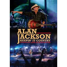 Alan Jackson - DVD Keeping It Country, Live At Red Rocks