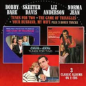 Bobby-Bare-&-Skeeter-Davis-Liz-Anderson-&-Norma-Jean-3-Classic-Albums-on-3-cds